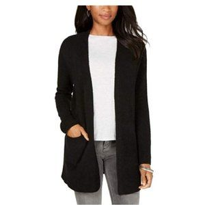 NWT Style & Co. Open-Front Cardigan Black XXL